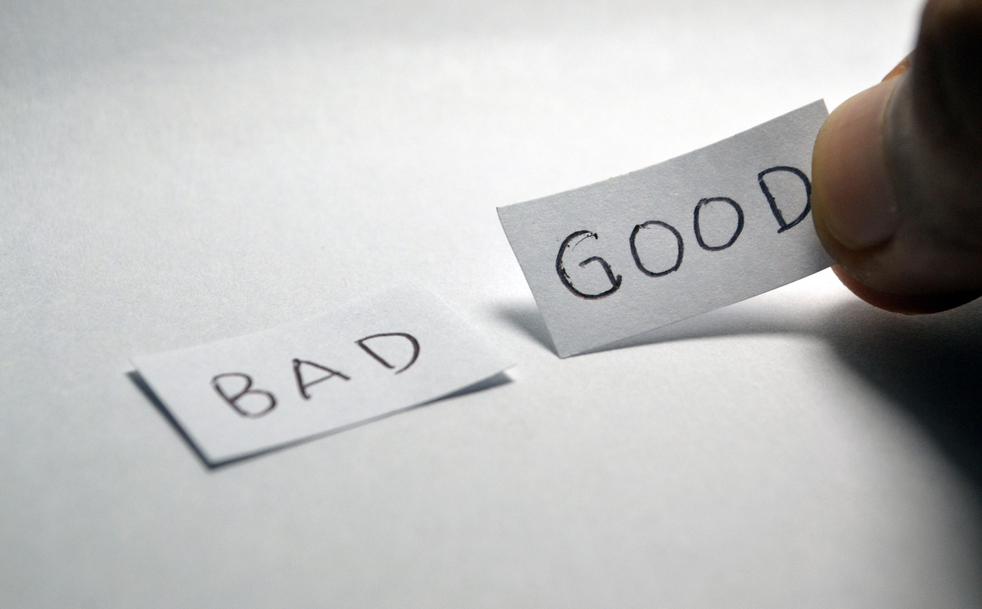 Words: Bad vs. Good